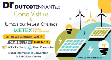 Witness our next-gen water solutions at WETEX 2019