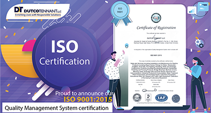 """Announcing """"ISO 9001:2015 Quality Management System"""" certification"""