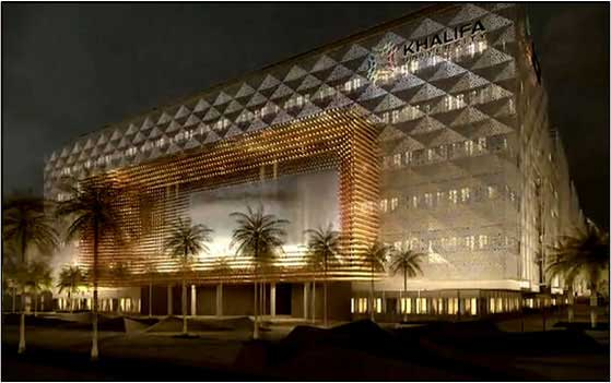 Khalifa University Extension phase – 01