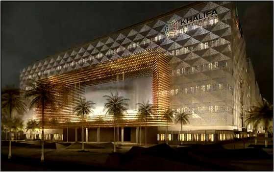 Khalifa University Extension phase – 01