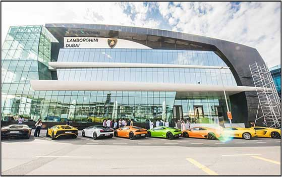Lamborghini Showroom- Dubai