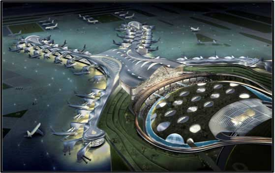 Midfield Terminal Building, Abu Dhabi International Airport – Digital Slave Clock System