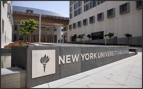 New York University ABU Dhabi – Call for Assistance & Call for Assistance Refuge Systems