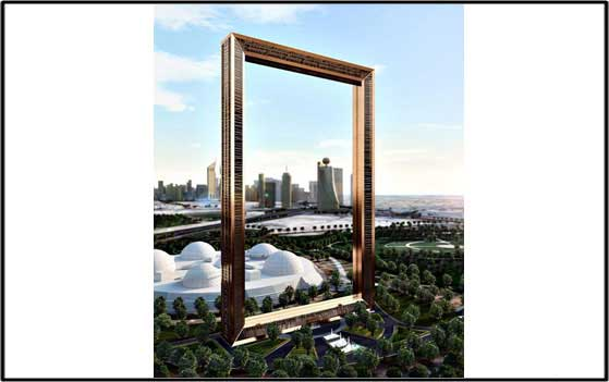 Dubai Frame – Dimming and Lighting Control System