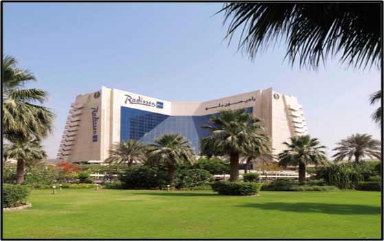 Radisson Blu Resort, Sharjah – Hospitality Locks