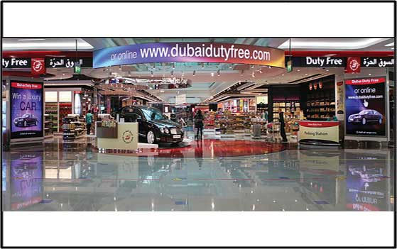 Dubai Duty Free – Digital Signage
