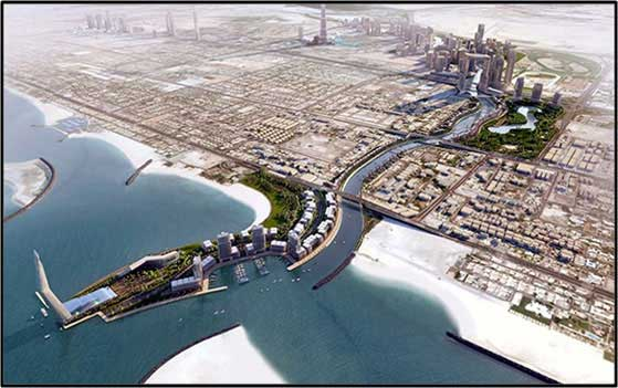 Dubai Water Canal – Outdoor Pa/bgm System