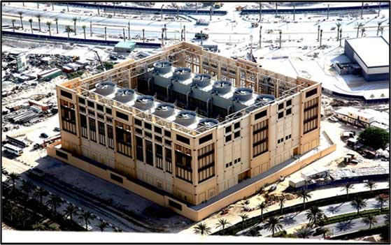 Burj District Cooling Plants