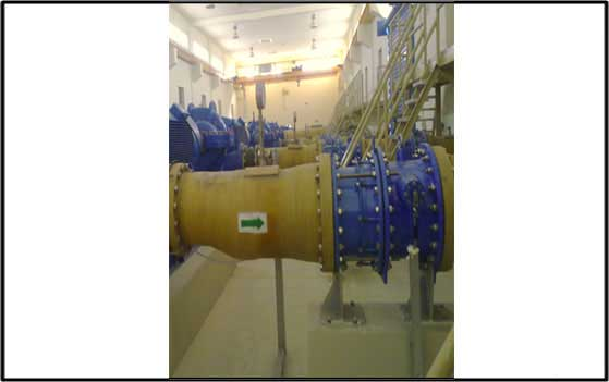 Supply to Pumping Stations Valves and Pipeline accessories