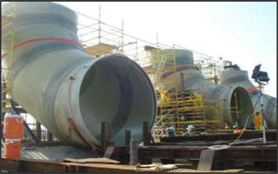Sea Water Intake System Ruwais 4th NGL Train Project