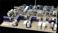 Modular Biosafety Lab.