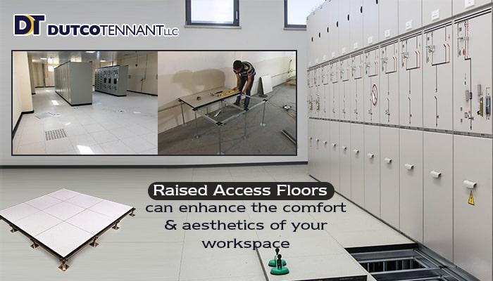 Raised floor