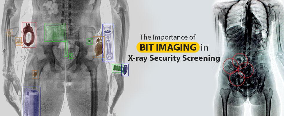 Bit Imaging in X-ray Security Screening