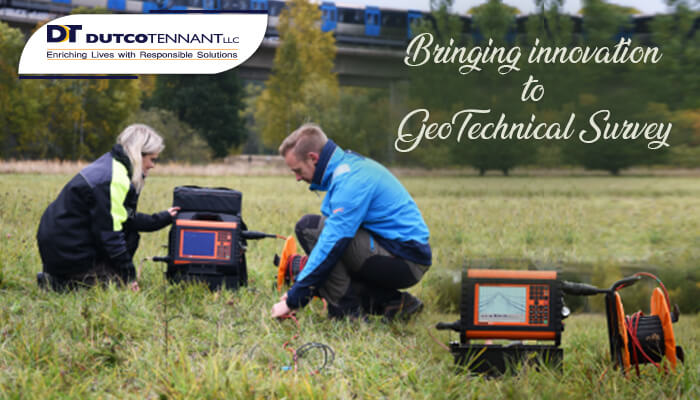 GeoTechnical Survey Equipment-Roads and utilities