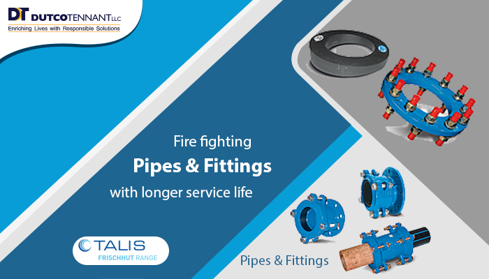 Pipes & Fittings-Industrial units