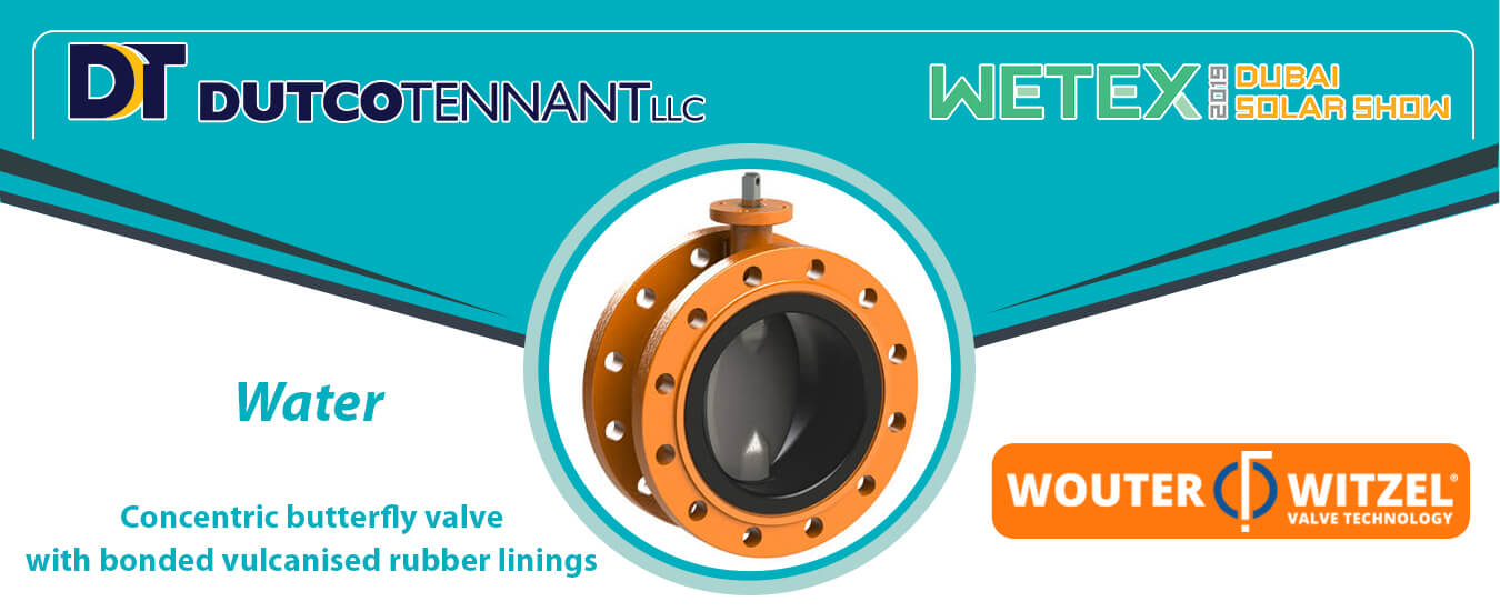 Concentric butterfly valve Banner