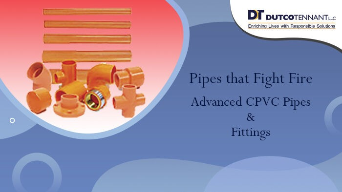 CPVC fire sprinkler pipes