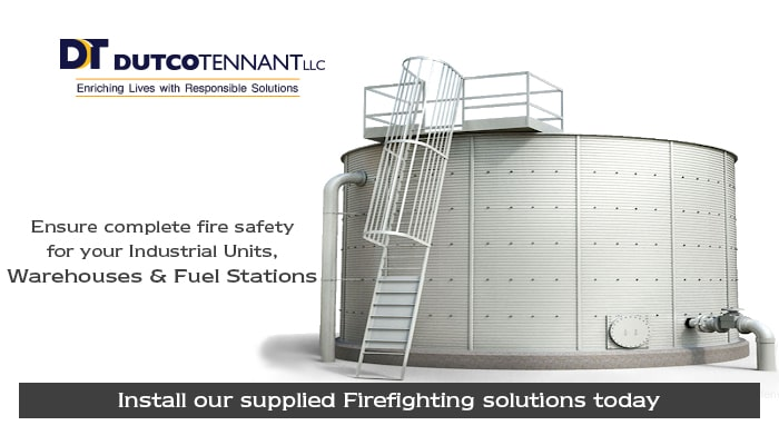 fire fighting equipment for industries