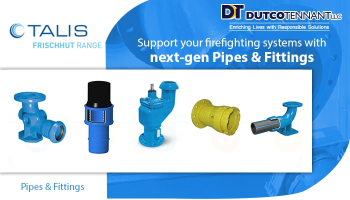 firefighting pipes