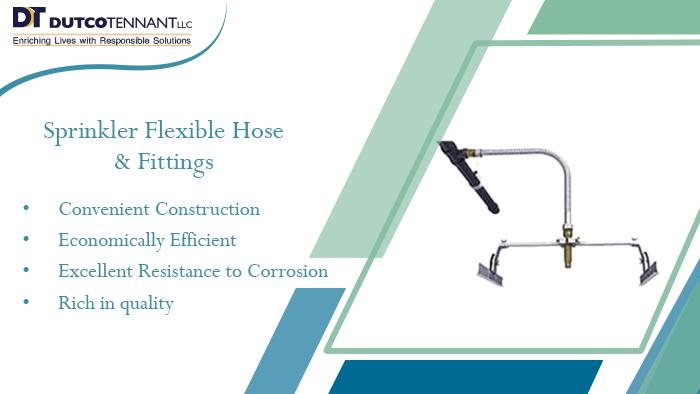 Sprinkler Flexible Hose & Fittings-buildings