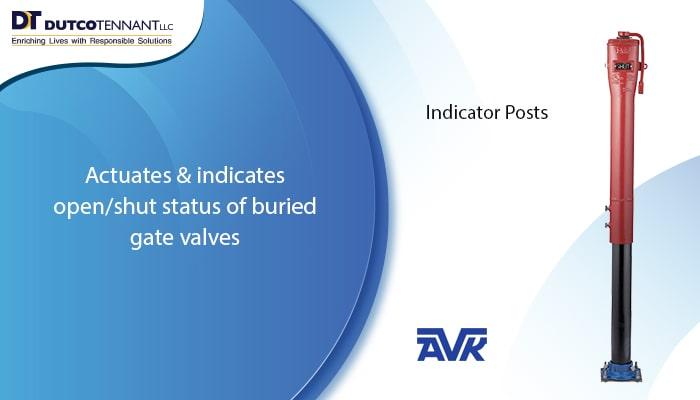 fire indicator post