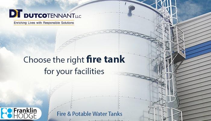 Choosing the right fire tank