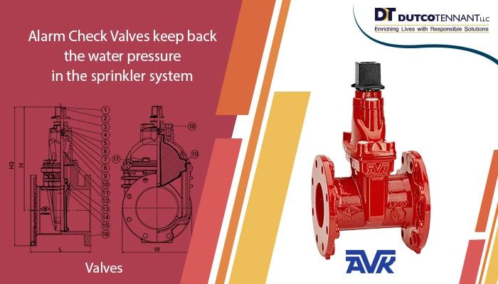 alarm check valve