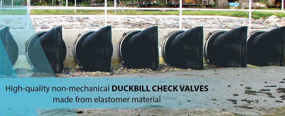 Duckbill Check Valves