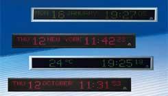 Digital Indoor Clocks