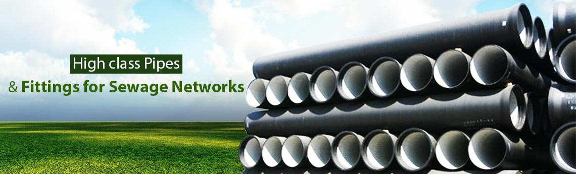 Sewage Network Pipes and Fittings