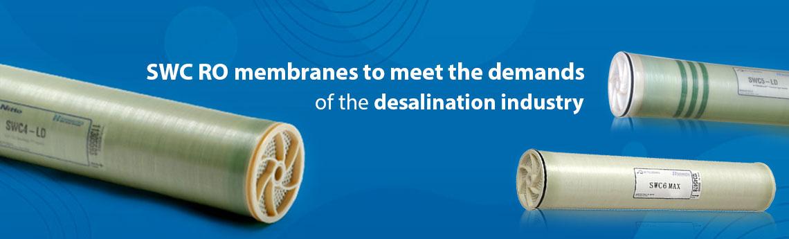 Seawater Treatment Membranes