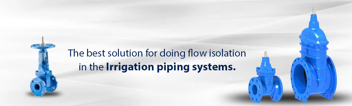 Gate Valves For Irrigation Network