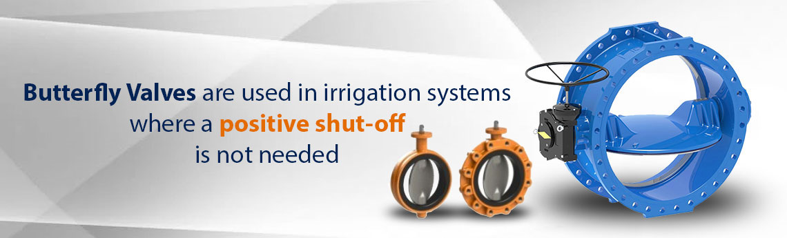 Butterfly Valves For Irrigation Network