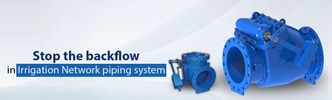 Check Valves For Irrigation Network