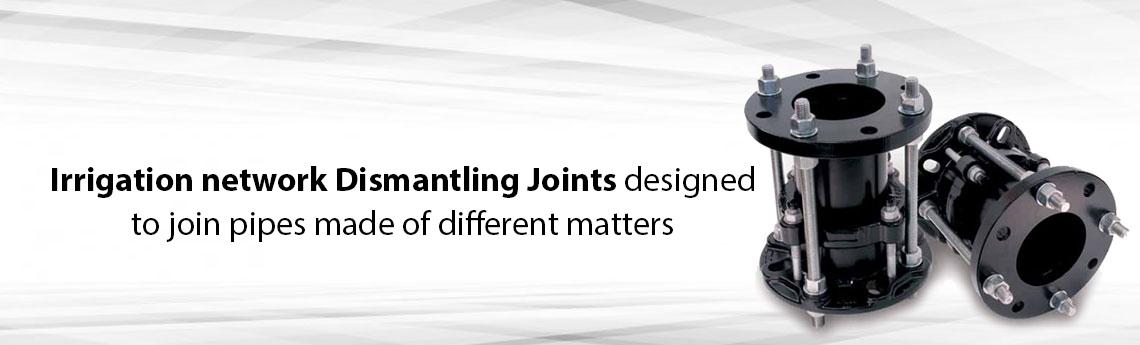 Dismantling Joints For Irrigation Network