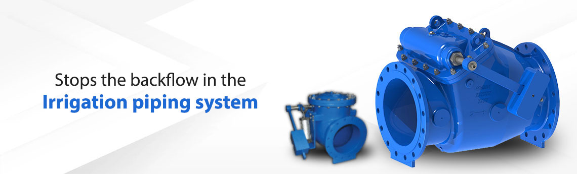 Check Valve For Irrigation Pumping Station
