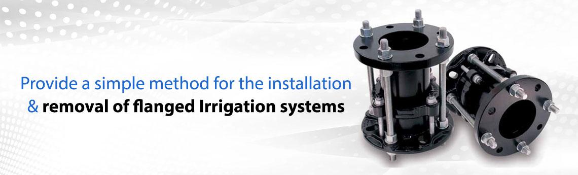 Dismantling Joints For Irrigation Pumping Station
