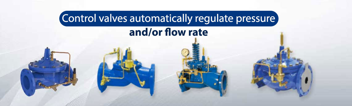 Control Valves For Irrigation Pumping Station