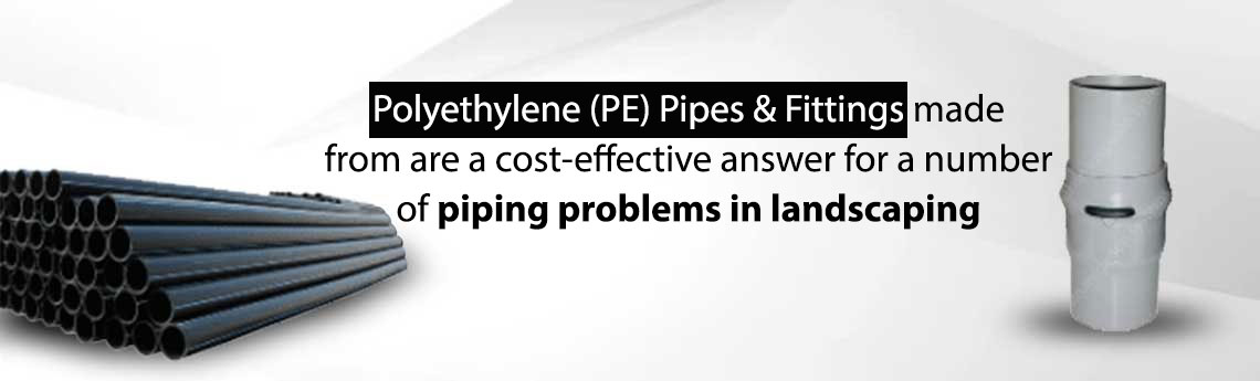 Pipes and Fittings For Landscaping