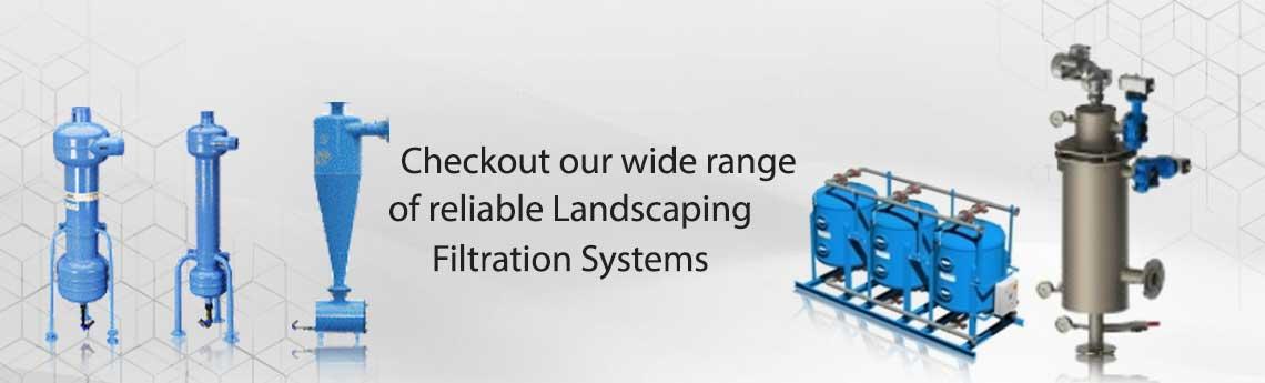 Filtration system For Landscaping
