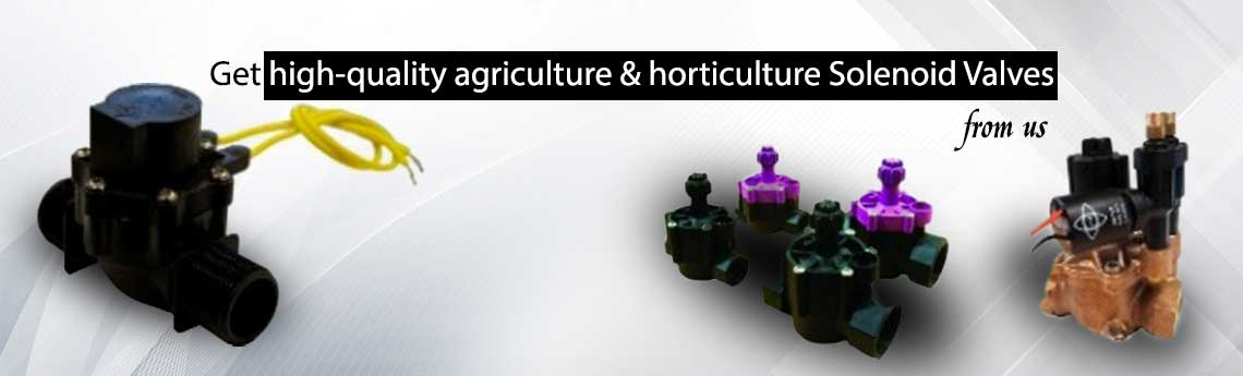 Solenoid Valve For Agriculture and Horticulture