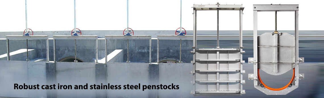 Flow Control - Penstocks and Rollergates
