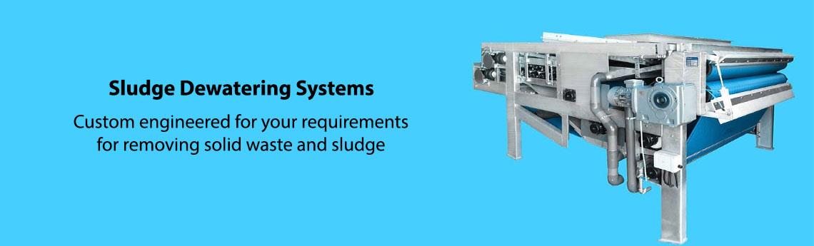 Wastewater Sludge Dewatering Systems