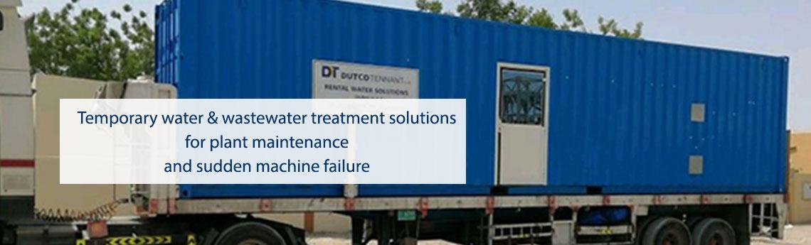 Water Treatment Rental Water Treatment Plant