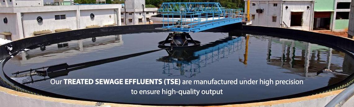 Treated Sewage Effluent (TSE)