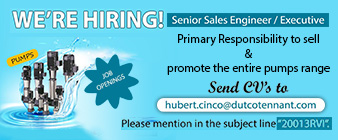 senior sales engineer executive