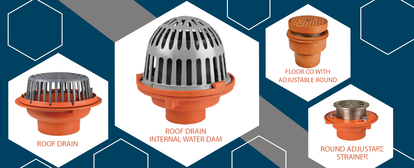 Floor Drains Roof Drains Products