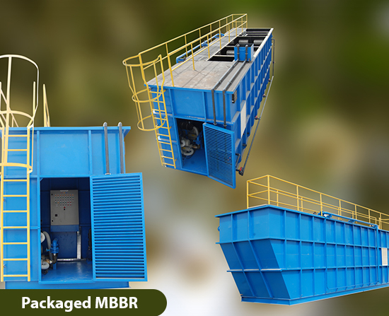 Packaged MBBR