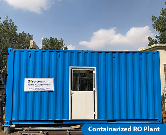 Containarized RO Plant