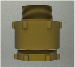 Gunmetal Compression Adaptors Water Transmission & Distribution